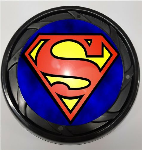 WHEELCHAIR & POWERCHAIR Personalised Spoke Guards SUPERMAN Design 2